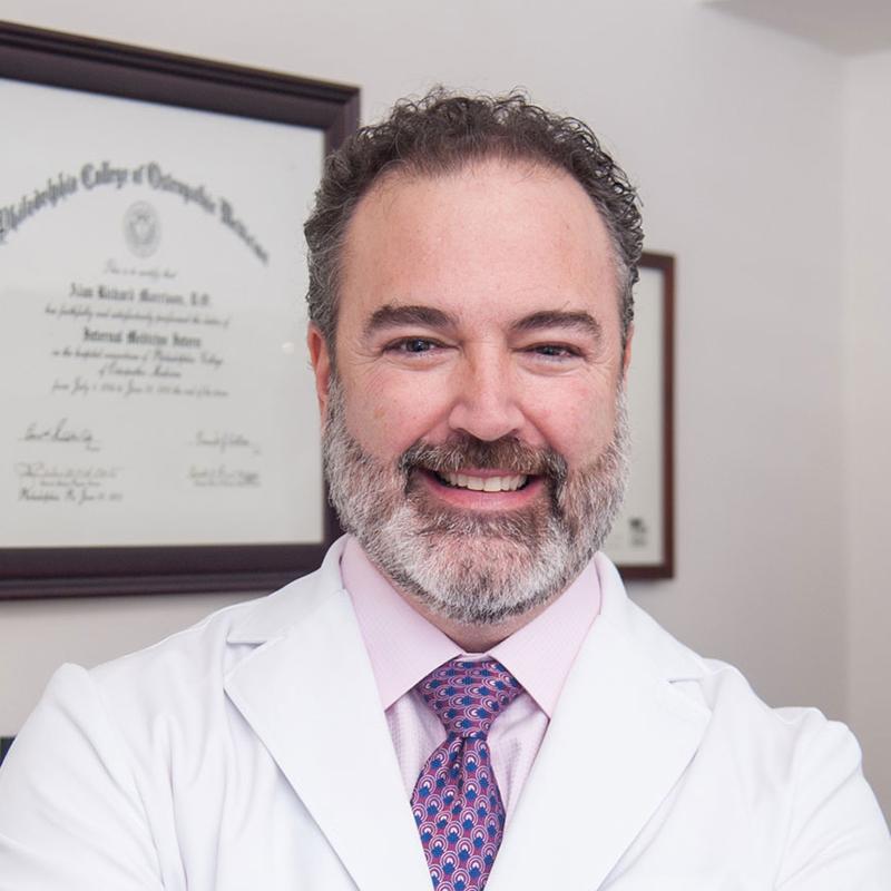Dr. Alan Morrison Headshot